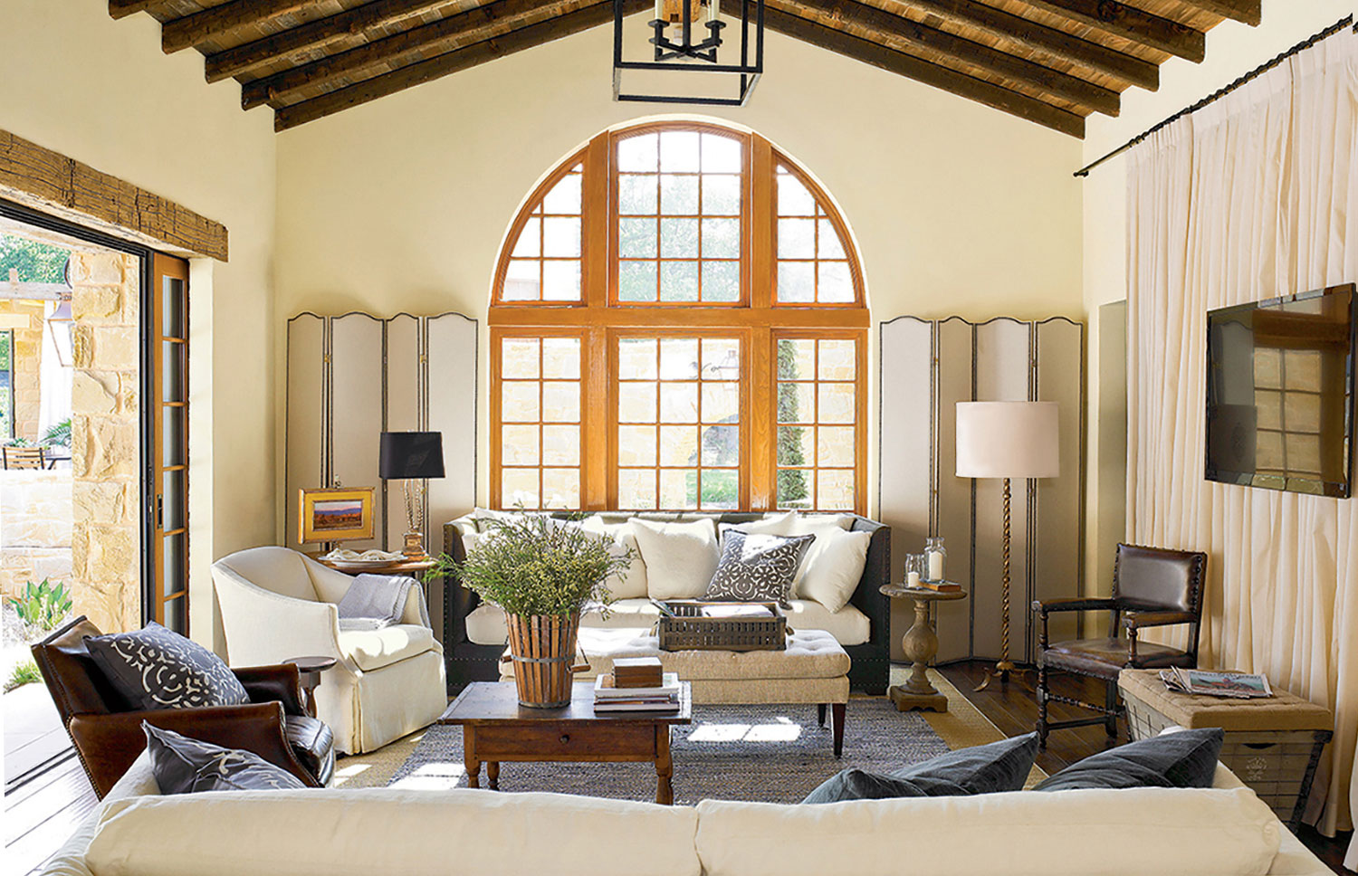Living Room Southern Living Interiors southern living idea house marcus mohon interiors publication magazine